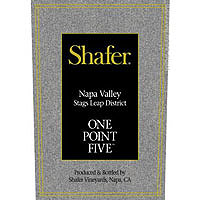 Shafer 2014 Cabernet Sauvignon, One Point Five