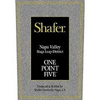 Shafer 2015 One Point Five, Cabernet Sauvignon, Stags Leap District, Napa Valley
