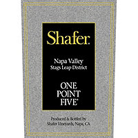 Shafer 2016 One Point Five, Cabernet Sauvignon, Stags Leap District, Napa Valley
