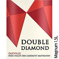 Double Diamond by Schrader 2016 Cabernet Sauvignon, Oakville, Napa Valley, Magnum 1.5L