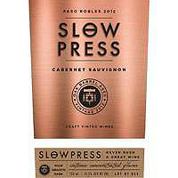 Slow Press 2015 Cabernet Sauvignon, California