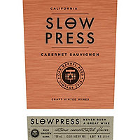 Slow Press 2016 Cabernet Sauvignon, California