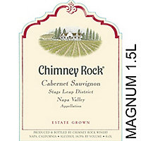 Chimney Rock 2015 Cabernet Sauvignon, Stags Leap District, Napa Valley, Magnum 1.5L