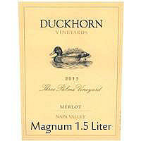 Duckhorn 2013 Merlot, Three Palms Vyd., Napa Valley, Magnum, 1.5 Liter