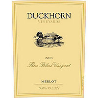Duckhorn 2014 Merlot, Three Palms Vyd., Napa Valley, Magnum, 1.5 Liter