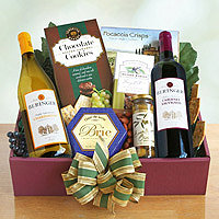 The Tasting and Toasting Gift Basket