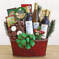 The Vineyard Bounty Gift Basket