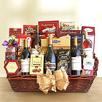 The Gourmet Deluxe Gift Basket