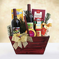 Vineyard Duo Wine and Gourmet Gift Basket