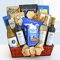 Wine Cellar Celebrations Gift Basket