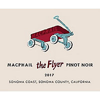 MacPhail 2017 Pinot Noir, The Flyer, Sonoma Coast
