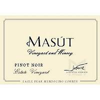 Masut 2015 Estate Pinot Noir, Eagle Peak, Mendocino