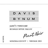 Davis Bynum 2015 Pinot Noir, Jane's Vyd., Russian River Valley