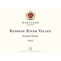 Hartford Court 2017 Pinot Noir, Russian River Valley