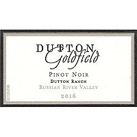 Dutton Goldfield 2016 Pinot Noir, Dutton Ranch, Russian River Valley