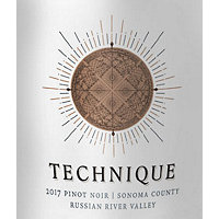 Technique 2017 Pinot Noir, Russian River Valley