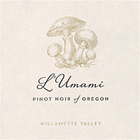 L'Umami 2017 Pinot Noir, Willamette Valley