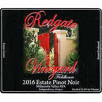 Redgate 2016 Pinot Noir, Willamette Valley