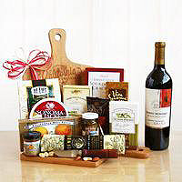 California Delicious Cutting Board Gift Basket