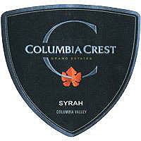 Columbia Crest 2015 Syrah, Grand Estates, Columbia Valley