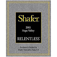 Shafer 2015 Relentless, Syrah, Napa Valley