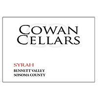 Cowan Cellars 2017 Syrah, Bennett Valley, Sonoma