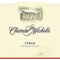Chateau Ste. Michelle 2012 Syrah, Columbia Valley