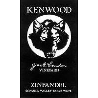 Kenwood 2012 Zinfandel, Jack London Vyd., Sonoma Mountain