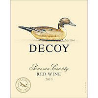Decoy by Duckhorn 2015 Red Blend, Sonoma County