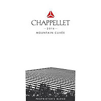 Chappellet 2016 Mountain Cuvee Red, Napa-Sonoma