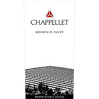 Chappellet 2017 Mountain Cuvee Red, Napa-Sonoma