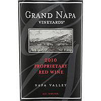 Grand Napa 2010 Proprietary Red Blend, Napa Valley