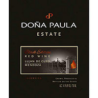Dona Paula 2014 Black Edition, Red Blend, Lujan De Cuyo