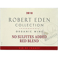 Robert Eden Collection 2018 Red Blend, Organic, France