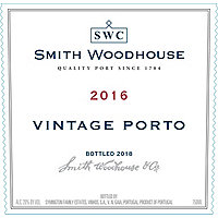 Smith Woodhouse 2016 Vintage Port