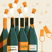 Sparkling Wines 6 Bottle Gift Sampler