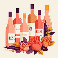 Everything is Rosy- 6 Bottle Rose Sampler