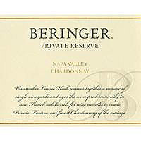 Beringer 2014 Chardonnay, Private Reserve, Napa Valley