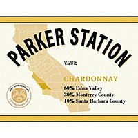 Parker Station 2018 Chardonnay, Central Coast