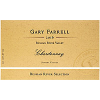 Gary Farrell 2016 Chardonnay, Russian River Selection, Russian River Valley