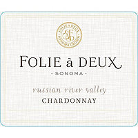 Folie a Deux 2017 Chardonnay, Russian River Valley
