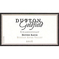 Dutton Goldfield 2016 Chardonnay, Dutton Ranch, Russian River Valley
