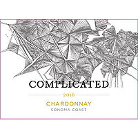 Taken Wine Co. Complicated 2016 Chardonnay, Sonoma Coast