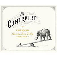 Au Contraire 2015 Chardonnay, Russian River Valley
