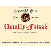 Pouilly Fuisse 2017 Domaine J. A. Ferret
