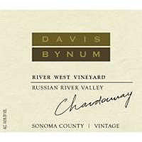 Davis Bynum 2014 Chardonnay, River West Vineyard, Russian River Valley