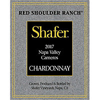 Shafer 2017 Chardonnay, Red Shoulder Ranch, Carneros