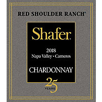 Shafer 2018 Chardonnay, Red Shoulder Ranch, Carneros