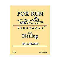 Fox Run 2014 Dry Riesling, Finger Lakes