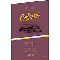 Bodegas Colome 2017 Estate Malbec, Calchaqui Valley